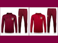 atletico madrid shirts - thai quality Atletico Madrid jacket Training suit kits soccer Jersey GRIEZMANN F TORRES KOKE SAUL CARRASCO Madrid football shirts