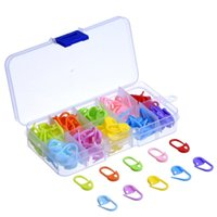 Wholesale 120 Pieces Knitting Crochet Locking Stitch Markers Stitch Needle Clip Colors by FEDEX DHL TNT EMS