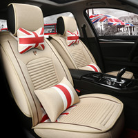 Wholesale Fashion car seats cover RUNNER YARIS VIOS English style vintage style car cushion creative seats cover