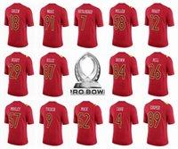 Wholesale 2017 Pro Bowl Jersey Ben Roethlisberger Tom Brady Le Veon Bell Antonio Brown Derek Carr Khalil Mack Amari Cooper Von Miller Kelce