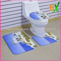 bath set suppliers - 2016 Alibaba China supplier waterproof rectangle anti slip mat toilet bath set