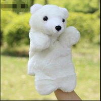 Wholesale PIECE Children s plush animal gloves hand large baby to appease finger toys