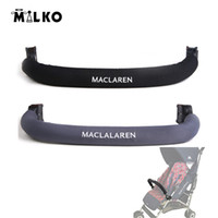 Wholesale Maclaren Baby Stroller Armrest Bumper Bar Baby Carriages Rear Bag General Armrest Baby Carriers Accessories Piece