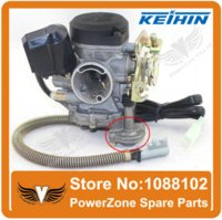 Wholesale Keihin CVK PD18J mm Carburetor Fit Motorcycle GY6 cc Scooter Moped PD18 Engine QMB QMA ABM IRBIS BAJA