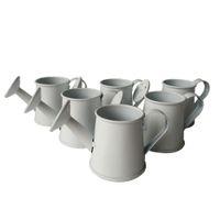 Wholesale cheap Mini Small smart Decorative watering cans Wedding favor bucket tin box Iron pots Easter eggs pots