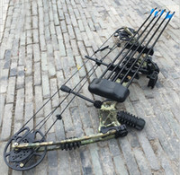Wholesale Archery equipment shooting hunting composite bows sports entertainment fitness outdoor hunting bow and arrow