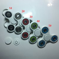 Wholesale 2017 HandSpinner D Printing EDC Fidget Spinner Toy For Decompression Anxiety Toys Stainless Steel Toys No Box XL A134