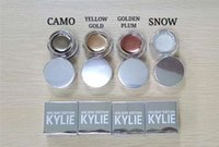 Wholesale New Kylie Creme Shadow Kylie Holiday Editon Kyshadow Creme Eyebrow Creme Birthday Edition Copper Rose Gold Camo Golden Plum Yellow Gold