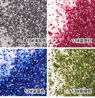 arts pearl powder - pc Nail Art powder pearl glitter phosphor special laser for women g