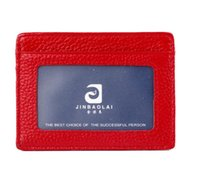 bank checks - Foreign trade Leather Slim Wallet bank card ID card package ms man bus card wallet