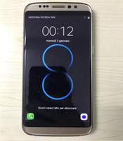 Goophone S8 quad core 5,5 pouces Android 6.0 montrent 64GB faux 4G lte clone déverrouiller smartphones goophone lte logo cellphones toucher cellphone déverrouillé