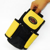 aluminum industries - Mini pocket tool pouch durabel canvas D tool bag mutilfunction tool pocket for auto decorate industry maleta de ferramentas