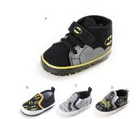 Wholesale Drop shipping spring Superman bat toddler shoes M unisex sports shoes soft kids casual shoes boys walking shoes pairs C