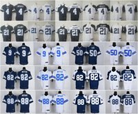 Wholesale Elite Mens Cowboys thanksgiving Dak Prescott Tony Romo Dallas Ezekiel Elliott Jerseys Dez Bryant jerseys Free Drop Shipping