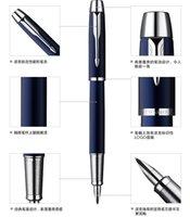 Wholesale Parker pen Parker IM blue and white clip Fountain Pen business men s gifts