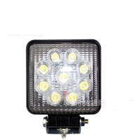 Wholesale Automotive work lights LM W High power X W Bead LEDs working light Square Offroad LED car Work Light bar