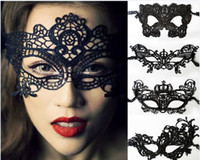 Wholesale Lace Mask for Christmas Cosplay Party Night Club Halloween Sexy Masquerade Masks kinds of Lace Masks Half Face