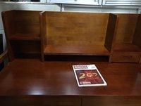 Wholesale High grade oak wood children table can lift student learning desk wood desk desk and chair bookshelf set