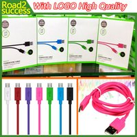 Wholesale For Date Sync Cable USB M FT charger Cable For Samsung S4 S5 supports with Retail Package High Qualtiy