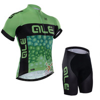 Wholesale Cycling Clothing ALE Men s summer bib shorts cycling jersey pro team Quick dry Outdoor maillot ciclismo MTB Racing cheap clothes china L3004
