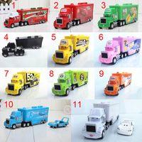 Wholesale Cars Mack Chick hauler Thai Pixar Car Lightning Hick Truck Toy car Kid different color