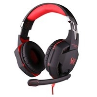 Casque de jeu professionnel LED Light Game Headset PC Gamer Bass Stereo Noise Isolation Volume Control Microphone