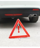 Wholesale Car safety warning signs reflective tripod aluminum foot fixed to carry convenient high quality support