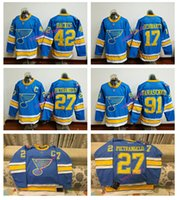 27 - 2017 Winter Classic Premier Jersey St Louis Blues Men s Alex Pietrangelo Vladimir Tarasenko Stitched Hockey Jerseys Mix order