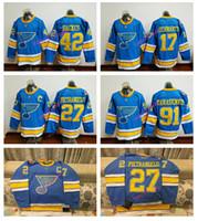 cotton - 2017 Winter Classic Premier Jersey St Louis Blues Men s Alex Pietrangelo Vladimir Tarasenko Stitched Hockey Jerseys Mix order