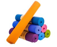 Wholesale New x61cm Colorful Yoga Mats Ecofriendly Waterproof Fitness Health Care Exercise TPE Mats For Yoga High Quality
