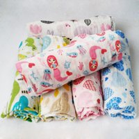 Wholesale Miracle baby baby baby shower is cotton gauze blankets newborn towel coverlet