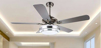 Wholesale 06European style living room lamps lighting lamp for ceiling fan lamp fan creative restaurant ceiling fan with a lamp