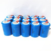 battery tab sub c - battery ipaq Ni Cd SubC Sub C V mAh Rechargeable Battery with Tab Blue Color