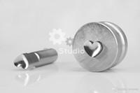 Compra Perforadora de matriz sello-El envío libre de DHL / la venta TDP-1.5 / 0T 10.7MM corazón / el amor que estampa muere molde / molde de la prensa de la píldora para la máquina de la prensa de la tableta del sacador