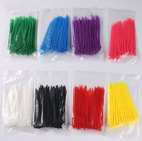 Wholesale New Arrival pack size mm mm Cable ties Organise Nlon Plastic Cable Ties Zip Fasten Wire Wrap Strap Hot Selling