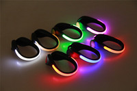 bicycle safety camp - LED Luminous Shoe Clip Light Night Safety Warning LED Bright Flash Light For Running Sports Cycling Bicycle Multipurpose