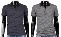 Wholesale Luxury Designer Fashion Mens Polos T Shirts Breathable Leisure Mens Sleeve with High Quality Cotton Classic Style for Men polo shirt M XL