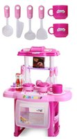 Wholesale Kitchen New Modern Kitchen Toy Action Figure for Girls Birthday Christmas Gifts