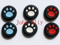 Vente chaude Thumb Stick Grips Caps Gamepad Joystick Housse pour Sony PlayStation 3 4 PS3 PS4 Xbox One 360 ​​Controller ThumbStick