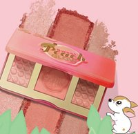 Wholesale Sweet Peach Glow Blush Powder infused Bronzers makeup blush palette Too Faced Sweet Peach Glow Color Blush Powder Blusher KKA1186