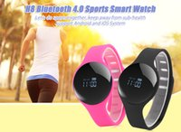 Wholesale H8 Smart Bracelet Pedometer Wristband Bluetooth Watch Activity Fitness Tracker smartbracelet for smartphones Updated FITBIT