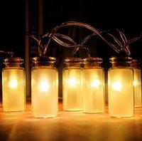 ball mason jar - LED String light Dailyart Vintage Clear Glass Jar LED String Lights Mason Jar Fairy Lights Battery Operated ft