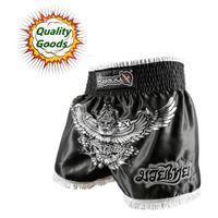 all'ingrosso hayabusa mma-merci di qualità - MMA Hayabusa Garuda nuovo Muay Thai tigre breve-Black