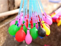 Wholesale 1 Set Balloons Magic Balloon Water Filled Balloon Amazing Water Bombs Toys Filling Water Ballons Games Summer Beach Party Free Ship