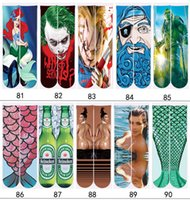 Wholesale 3d socks design kids women men hip hop socks d odd socks cotton skateboard socks printed socks free DHl