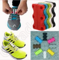 Wholesale 6 Colors Zubits Novelty DIY Lazy Magnetic Casual Sneaker Shoe Buckles Closure No Tie Shoelace Unisex Sneaker Shoes Closure CCA5370 pair