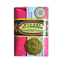 For Body bee and flower - 81g Oz Bee and Flower Rose Soap Classical Chinese Band Bath Soap Acne Treatment Nice Smell
