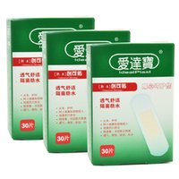 Wholesale 90PCs Boxes cm cm Transparent PE Band Aid Invisible Bandages Waterproof