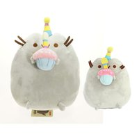 Wholesale 2016 Kawaii Brinquedos New Pusheen Cat Cookie Icecream Doughnut Styles Stuffed Plush Animals christmas Toys for Girls