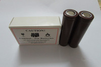 Wholesale Original HG2 Battery mAh A MAX For LG HG2 Lithium Batteries VS Sony VTC5 VTC4 LG HG2 HE4 Battery Fedex